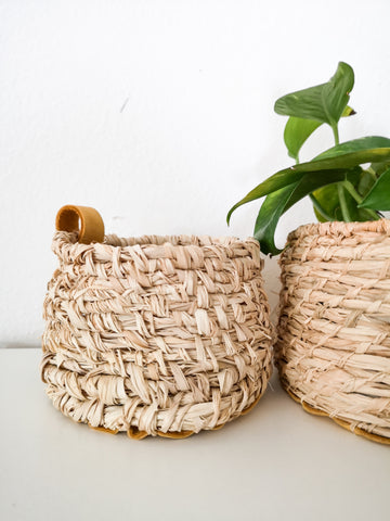 Small Handwoven Basket