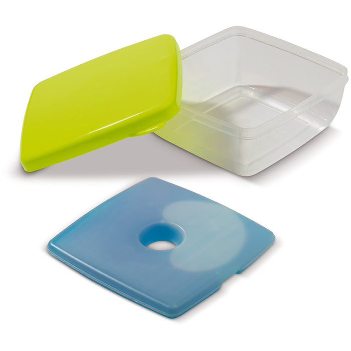 lunch box met koelelement 750 ml groen