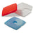lunch box met koelelement 750 ml rood