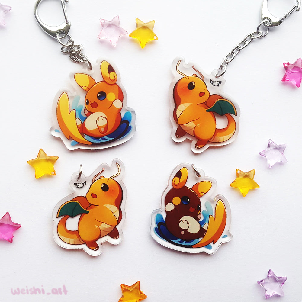 DRAGONITE RAICHU LYCANROC