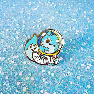 SPACE WOLF PIN