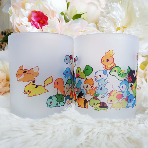 POKEMON STARTER FROSTED MUG