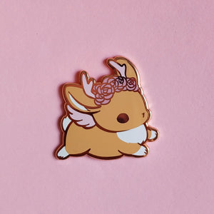 BROWN BUNNY PIN