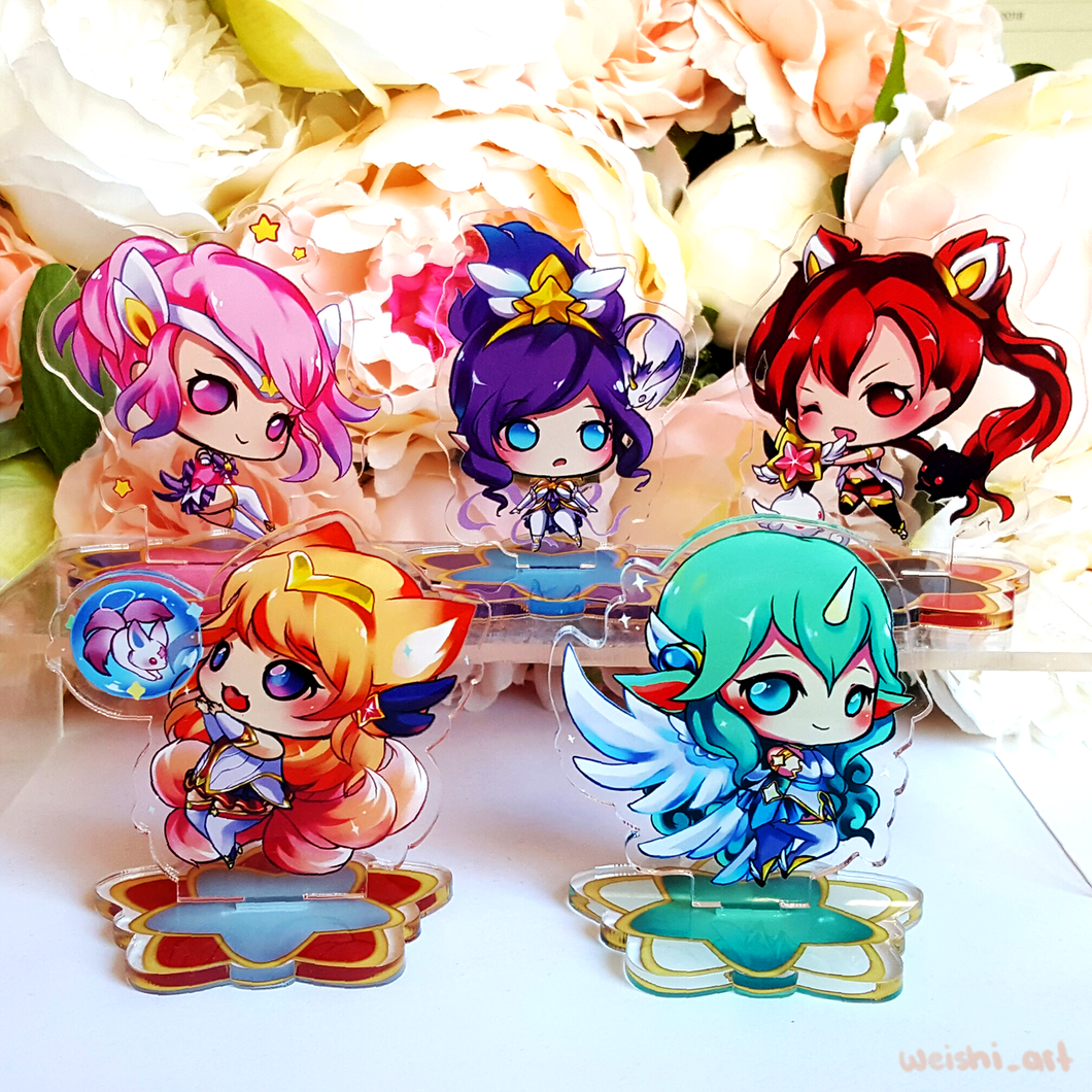 STAR GUARDIAN STANDEES