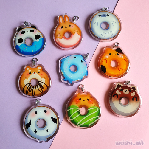 DONUT ANIMAL CHARMS