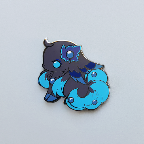 PEARL FAIRY DOG PIN
