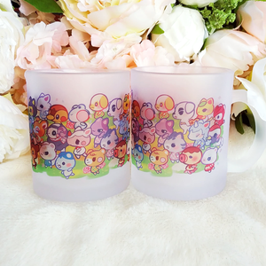 ANIMAL CROSSING FROSTED MUG
