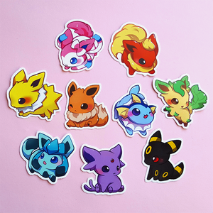EEVEELUTION STICKER SET