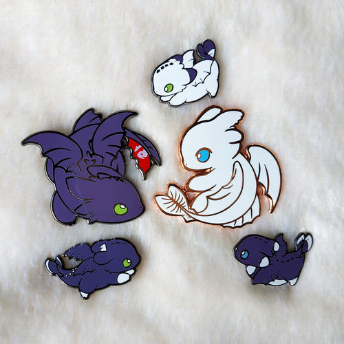 HTTYD PIN SET