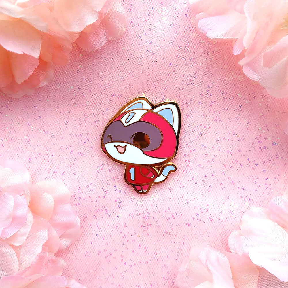 AC KID CAT PIN