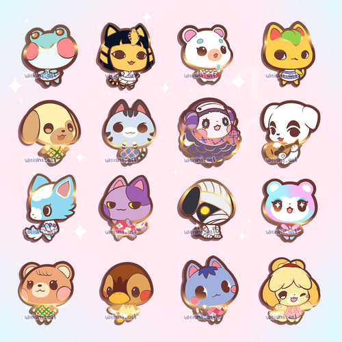 [PREORDER] ANIMAL CROSSING PINS