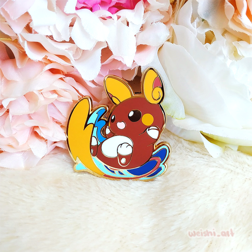 SHINY ALOLAN RAICHU PIN (LIMITED EDITION)