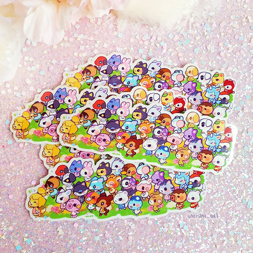 ANIMAL CROSSING STICKER