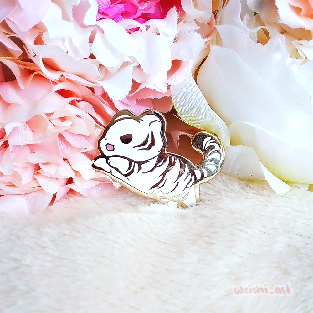 WHITE TIGER (LIMITED EDITION) PIN