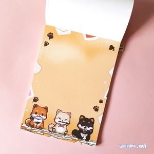 CUTE ANIMAL NOTEPAD