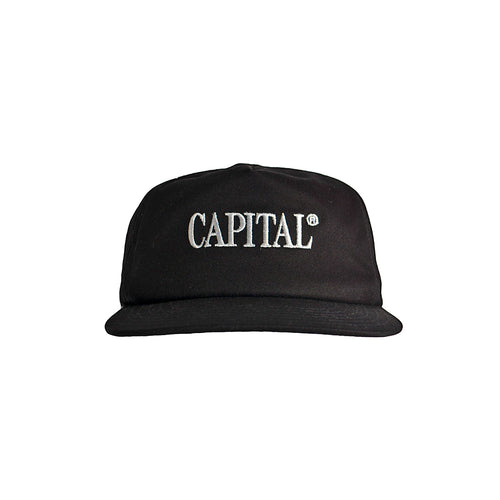 Issue 01 Campaign Cap Black
