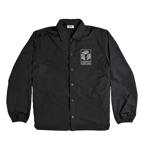 Issue 01 Graph Coach Jacket Black