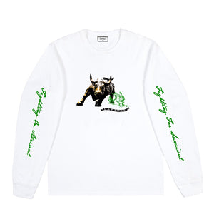Issue 01 Buffalo L/S T-Shirt White