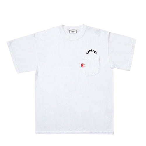 Issue 01 Dynasty Pocket T-Shirt White