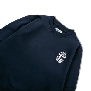 Issue 02 Capital Citizens Crewneck Sweatshirt Navy