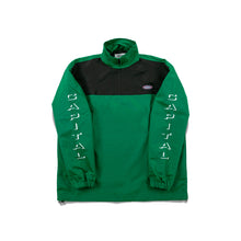 Issue 02 Half Zip Jacket Black/Green