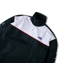 Issue 02 Half Zip Jacket White/Navy