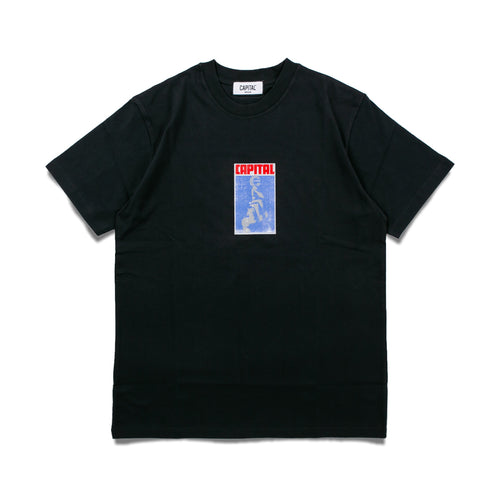 Issue 02 Letter T-Shirt Black