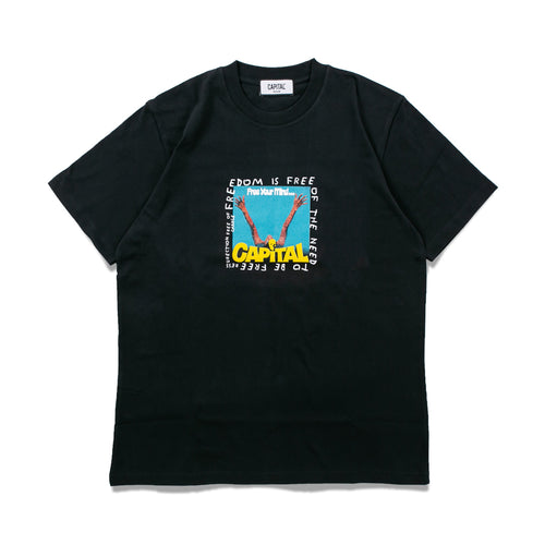 Issue 02 Freedom T-Shirt Black