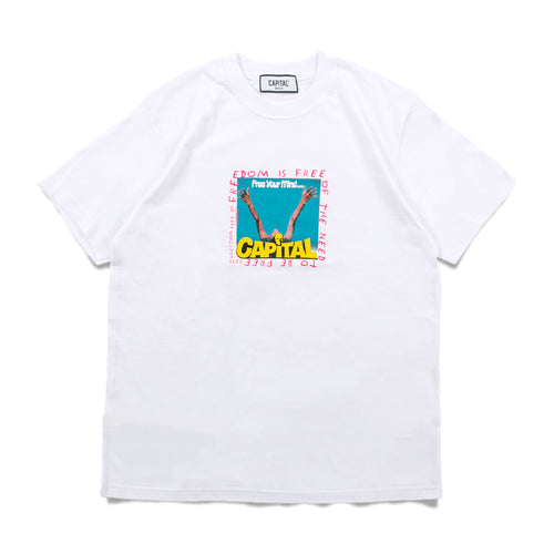 Issue 02 Freedom T-Shirt White