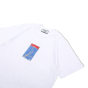 Issue 02 Letter T-Shirt White