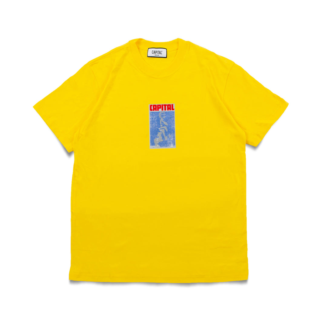 Issue 02 Letter T-Shirt Yellow