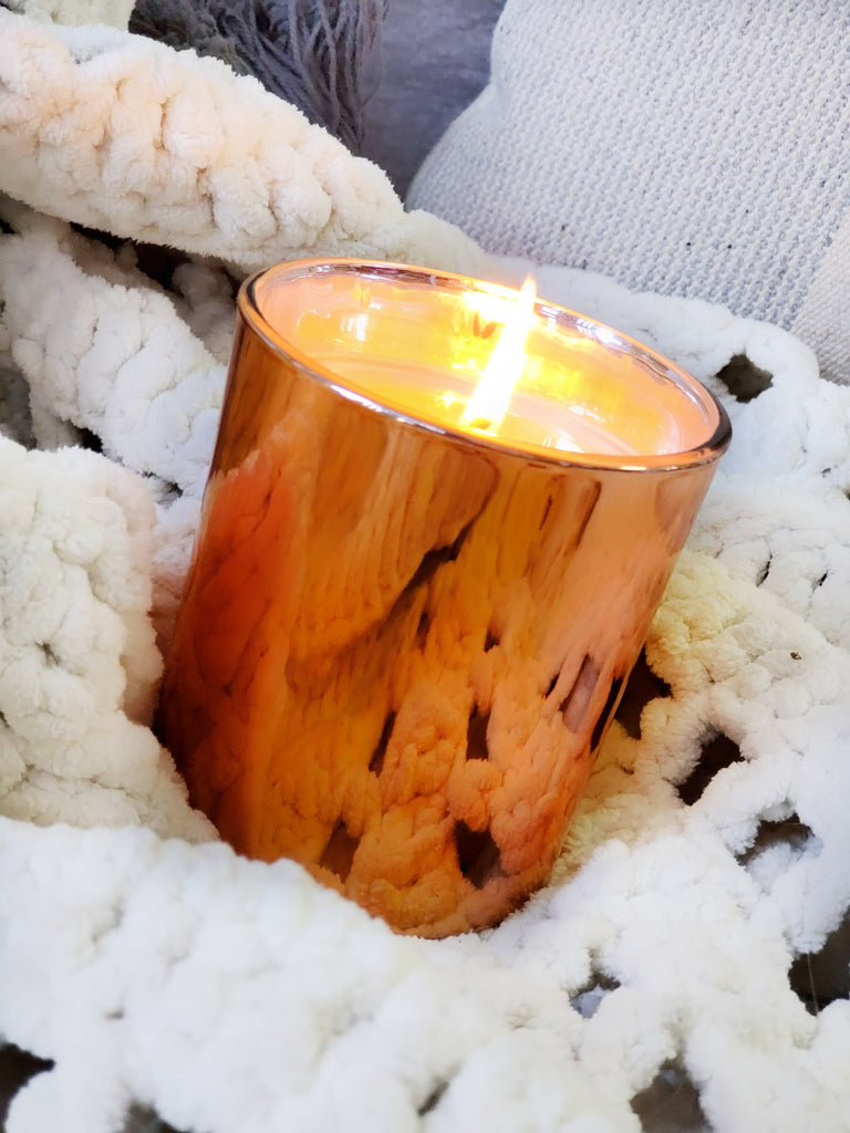Luxury Copper Soy Candle