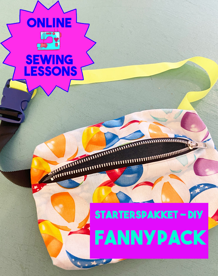 DIY - Sewing Starter Pack - Fanny Pack