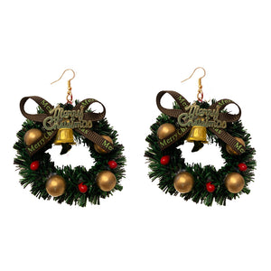 EARRINGS - MERRY XMAS