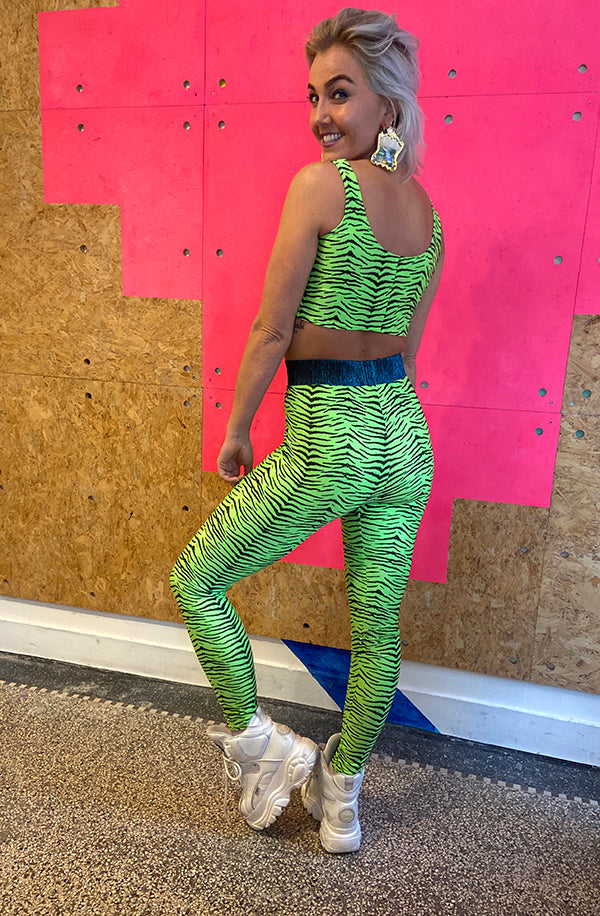 Legging - Tiger Green