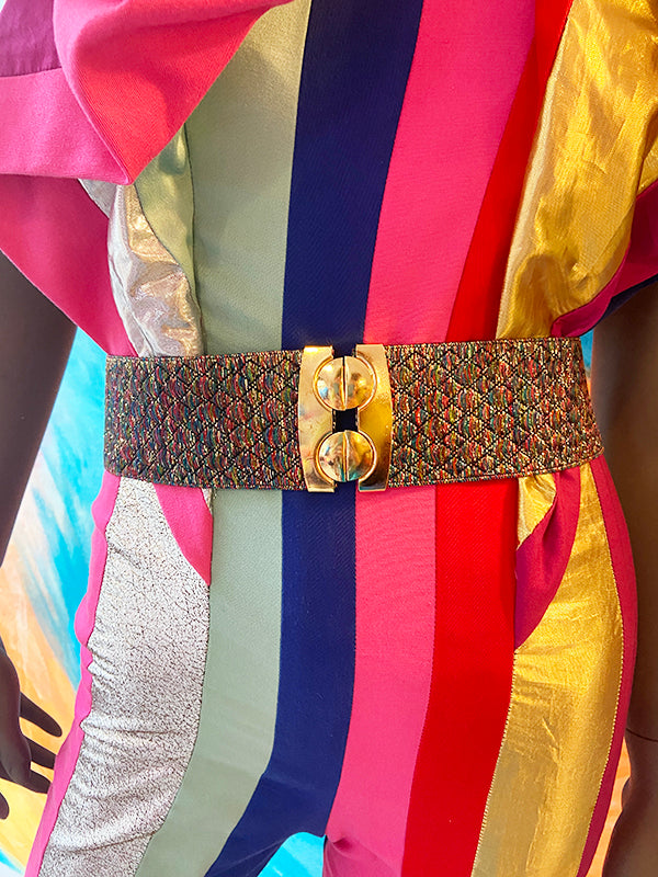 Belt - Multicolor Gold