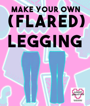 Private Sewing Class - (Flared) Legging