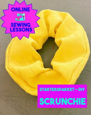 DIY - Sewing Starter Pack - Scrunchie