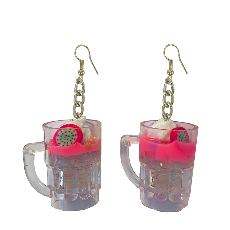 Earrings - Pink Cocktail