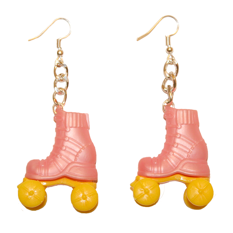 Earrings - Rollerskates
