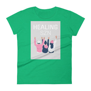 It's Healing Season Sis Women's short sleeve t-shirt
