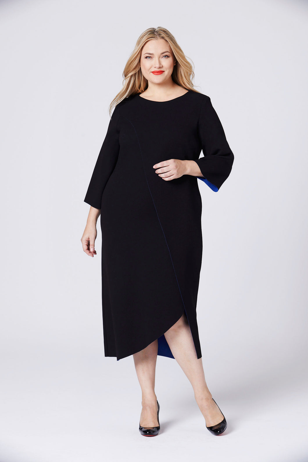The Tete Dress Black