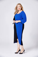 The Tete Dress Blue