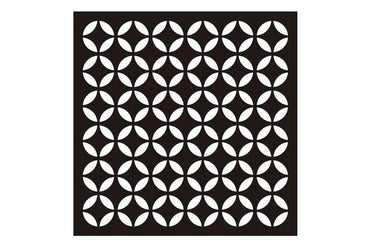 Star Decorative Ceiling Panel Black