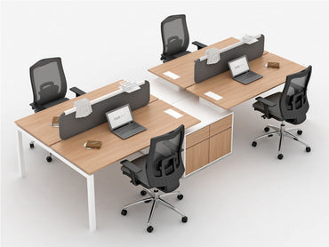 Galaxy Wide Desk 4-seater