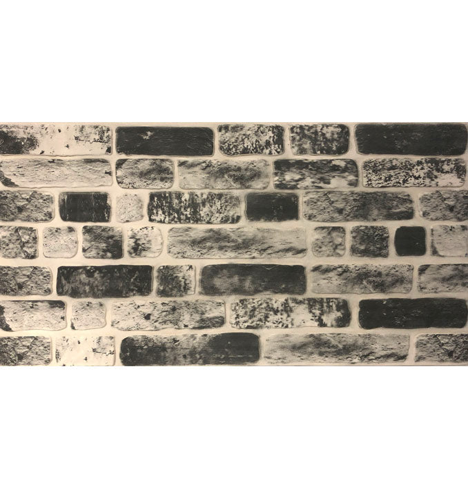 Black Patterned Wall Panel - PeronShop