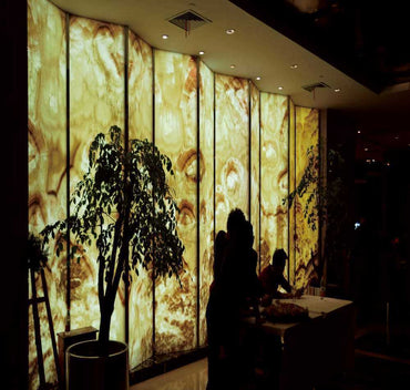 Light Transparent Marble Panel
