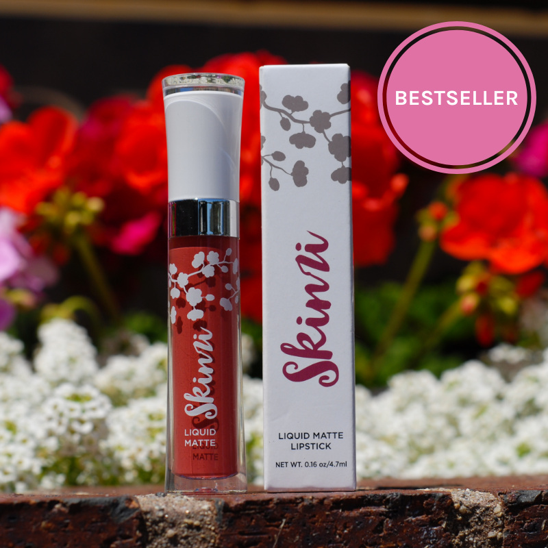 Full Bloom is one of Skinzi Cosmetics best selling liquid lipstick. Our lipsticks are cruelty-free, vegan, phthalate, paraben and sulfate free. They are also gluten free.
