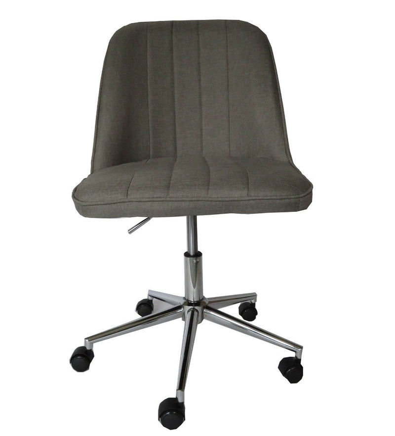 Bergen Dark grey fabric gas lift home office chair