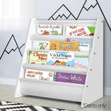 Keezi Kids Bookshelf Shelf Children Bookcase Magazine Rack Organiser Display